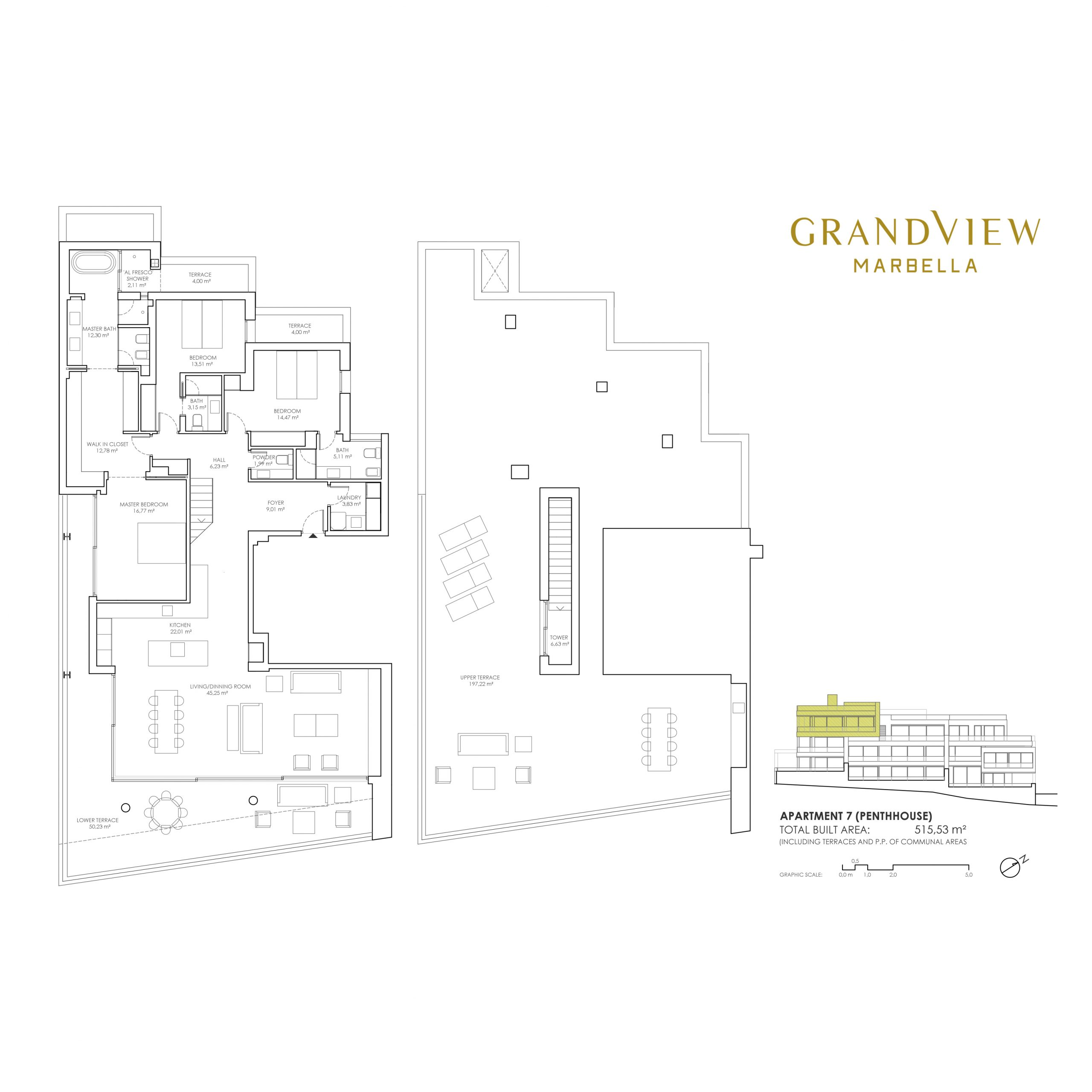 Grand View Marbella Apartment 7 - Penthouse